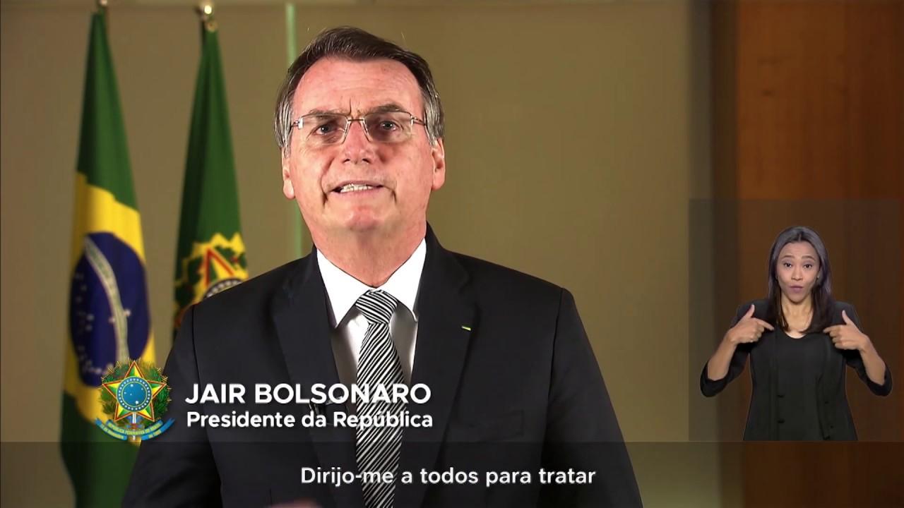 maxresdefault 5 - NESTA QUINTA: Bolsonaro fará pronunciamento na televisão para falar de coronavírus