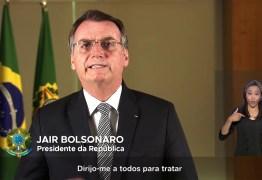 NESTA QUINTA: Bolsonaro fará pronunciamento na televisão para falar de coronavírus