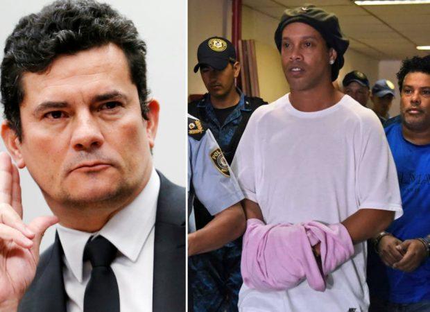 moro ronaldinho 620x450 1 - Moro telefona a autoridades paraguaias para acompanhar caso de Ronaldinho Gaúcho
