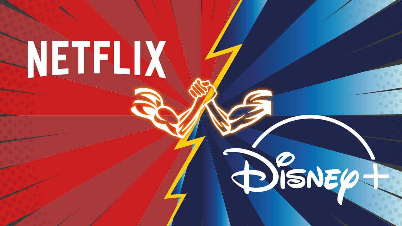 netflix vs disney plus 5 - Netflix supera valor de mercado da Disney em meio a pandemia de coronavírus