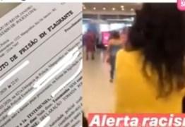 """Mulher é presa em flagrante após xingar negra de """"macaca"""" em shopping"""