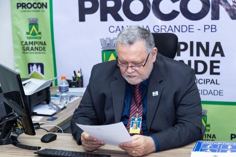 rivaldo rodrigues - Procon inibe descumprimento de medidas de prevenção ao Covid-19 em Campina Grande