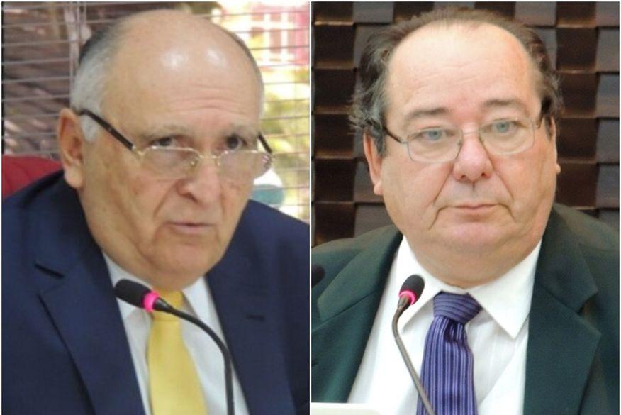 01 conselheiros - Calvário: STJ mantém afastamento de Nominando Diniz e Arthur Cunha Lima do TCE-PB