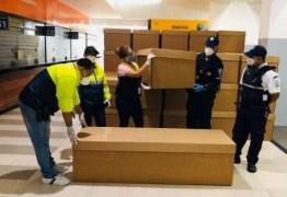 PANDEMIA: Equador usa caixões de papelão para suprir demanda de mortos por coronavírus