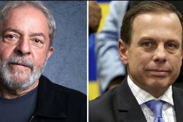 2019080716080 f2c9429a 5d6e 488b 8e71 b5c5f30ba4df - Dória compartilha foto de Lula ao afirmar que coronavírus não possui ideologia