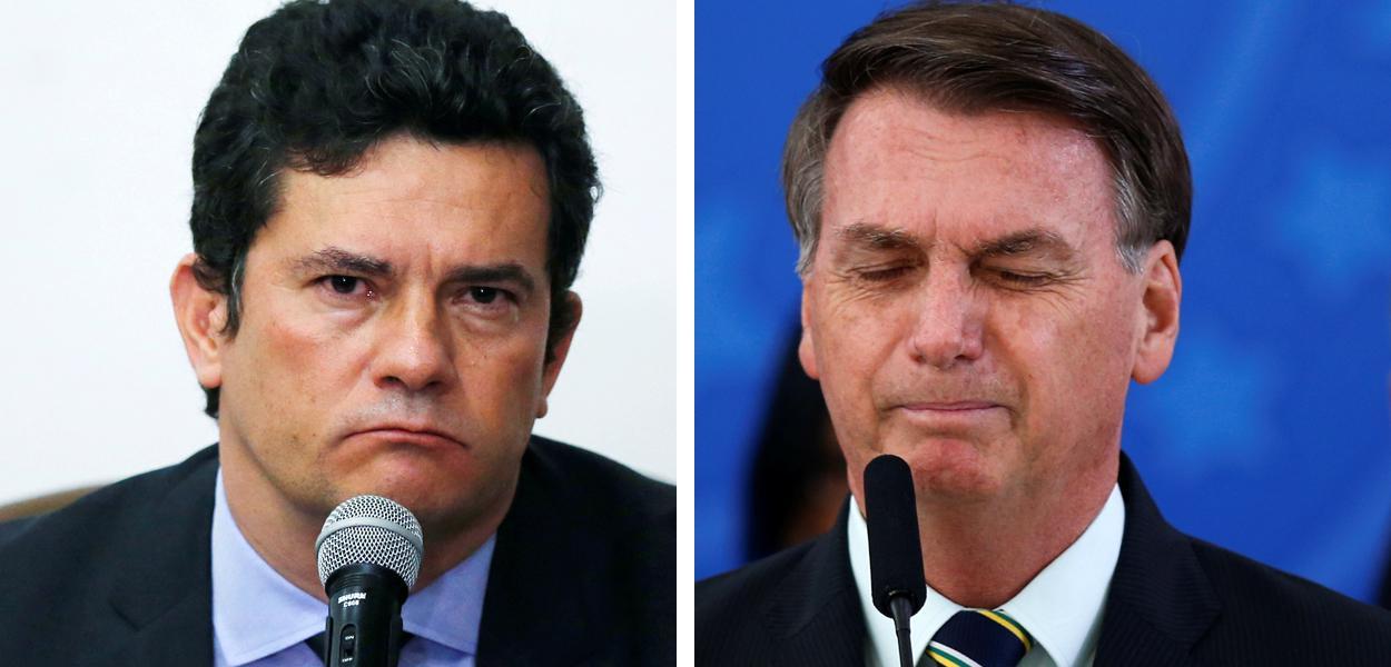20200424190444 dd56064f 254f 46cc b0a6 a79f5c71bd66 - Jornal Nacional exibe troca de mensagens entre Moro e Bolsonaro onde presidente cobra mudança no comando da PF