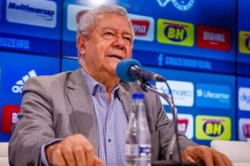 Presidente do Cruzeiro testa positivo para coronavírus