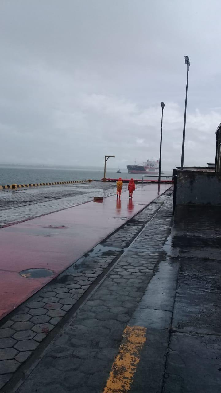 949b3a75 1020 407c 8890 e00ead3c14e7 - RAZÕES HUMANITÁRIAS: Secretário de Saúde afirma que navio ancorado em Cabedelo tem tripulantes com suspeita de coronavírus
