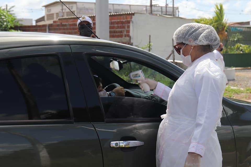 Barreira Sanitária Fotos LeandroSantos Secomd 2 - PREVENÇÃO À COVID-19: Conde monta barreiras sanitárias nos principais acessos ao município