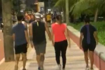 Capturar 39 - QUEBRANDO A QUARENTENA: paraibanos ignoram casos de covid-19 no estado e voltam a passear na Orla - VEJA VÍDEO
