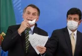 'Quem tem mandato fala, e quem não tem, como eu, trabalha', diz Mandetta após críticas de Bolsonaro