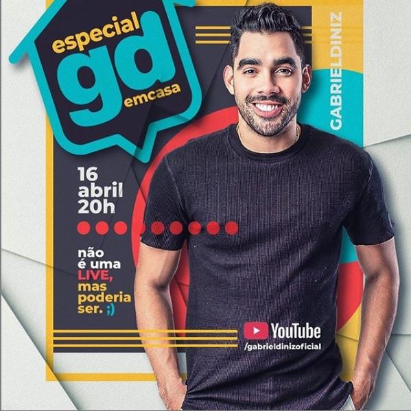 Capturar 60 - COMBATE AO CORONAVÍRUS: Pai de Gabriel Diniz anuncia show do cantor nas redes sociais