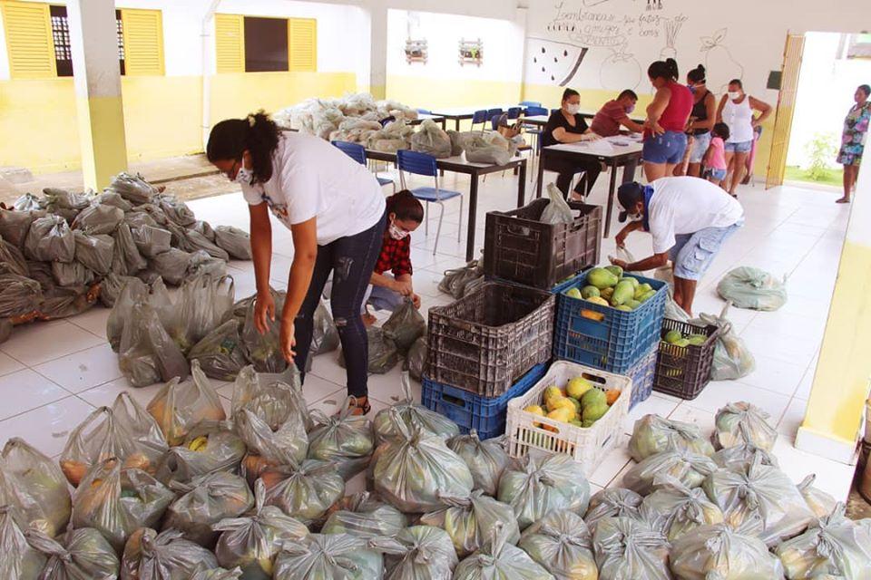 Colheita Conde 2 - Prefeitura de Conde investe R$ 117 mil em agricultura familiar e reverte produção para atender população em situação de risco