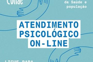 Colo de Conde - Prefeitura do Conde inicia projeto de atendimento psicológico on-line