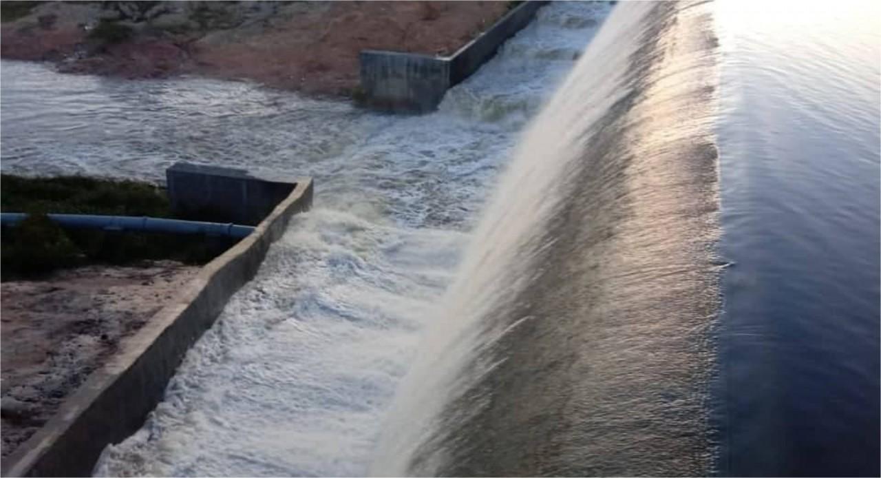 Farinha 6 - Açudes transbordam após registro de chuvas em várias cidades da Paraíba