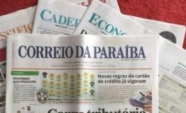 """Minha história com o """"Correio da Paraíba"""", que se despede da cena – Por Nonato Guedes"""