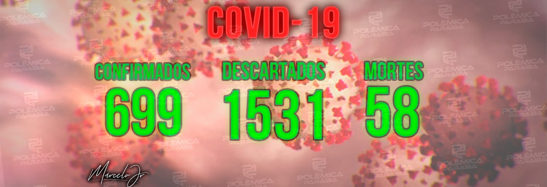 WhatsApp Image 2020 04 28 at 19.18.52 - NOVO BOLETIM: Paraíba tem 58 mortes e 699 casos confirmados de Covid-19, diz SES