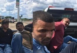 Seis suspeitos de assaltos pelo Nordeste, são presos no Sertão da Paraíba -VEJA VÍDEO