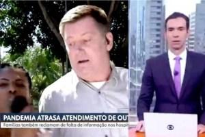 ataque jornalista globo 300x200 - DEPOIS DE SÁBADO: Jornalismo da Globo reforça atenção contra ataques nas ruas