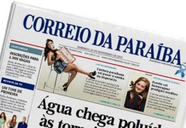 NOTA: Sindicato dos Jornalistas da Paraíba e FENAJ lamentam fechamento do Jornal Correio da Paraíba