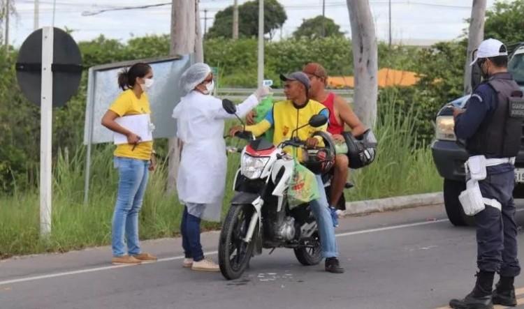 barreira sanitária - BARREIRA SANITÁRIA: Justiça autoriza Prefeitura de Conde a proibir entrada de turistas na cidade