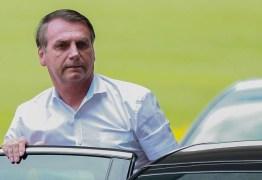 Bolsonaro vai até Hospital das Forças Armadas em Brasília