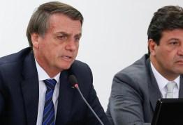 'Vai matar o pessoal de fome', afirma Bolsonaro em discussão com Mandetta