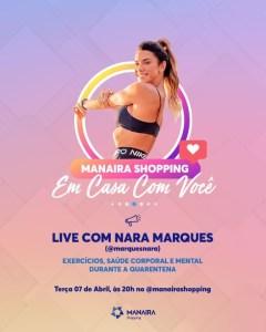 c21a37bb 4b7e 4b53 b8ee 6e13b4176c82 240x300 - Manaira Shopping terá lives no Instagram com Renata Uchôa, Renan da Resenha, Nara Marques, Kevin Ndjana e Mariah Yohana
