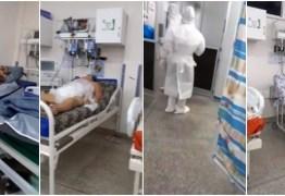 COVID-19: Imagens mostram cadáver ao lado de pacientes em hospital; VEJA VÍDEO
