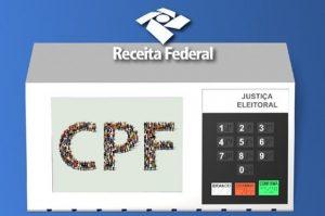 cpf eleitoral 300x199 - CORONAVOUCHER: Receita Federal vai regularizar CPF com pendência eleitoral