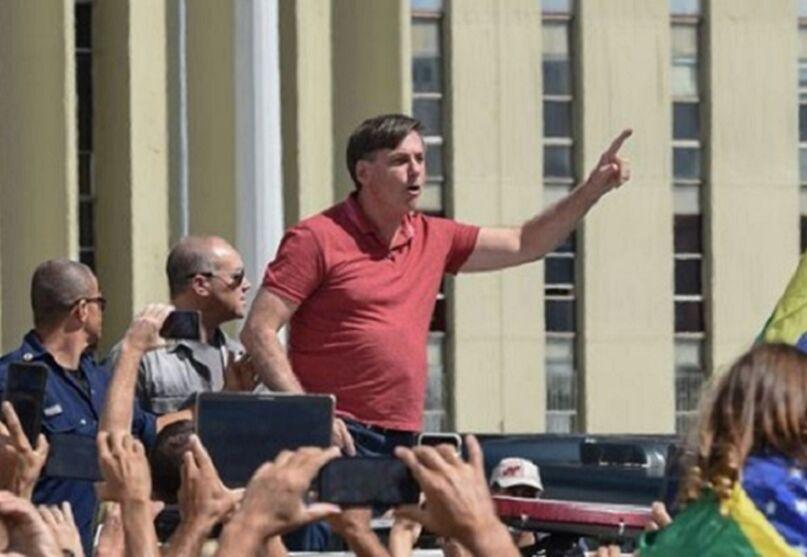 das 00584779 0  - Ministro autoriza apuração de ato pró-golpe militar que teve participação do presidente Bolsonaro