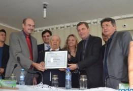 Chico Mendes manifesta profundo pesar pelo falecimento de João Claudino e decreta luto oficial de três dias, em São José de Piranhas
