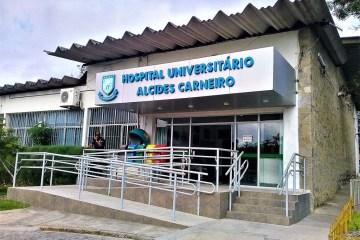 huac0803a - Se encerram hoje inscrições para contratação de profissionais de saúde, no HU de Campina Grande