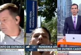 Mulher invade link da Globo em jornal local de SP para xingar emissora e apoiar Bolsonaro – VEJA VÍDEO