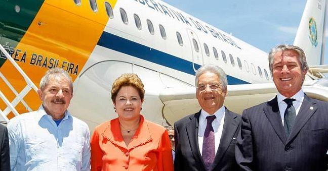 lula dilma fhc e collor. r. stuckert filho pr - Lula e a articulação de ex-presidentes pela democracia - Por Lauro Jardim