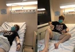 Menino vai parar no hospital depois de masturbação na quarentena – VEJA VÍDEO
