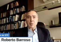 Luiz Roberto Barroso elogia Mandetta e afirma que eleição deve ser definida até junho