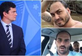 Na mira do clã Bolsonaro: Carlos e Eduardo Bolsonaro direcionam artilharia contra Sergio Moro