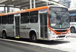Circulação de ônibus coletivo é suspenso durante feriado em Campina Grande