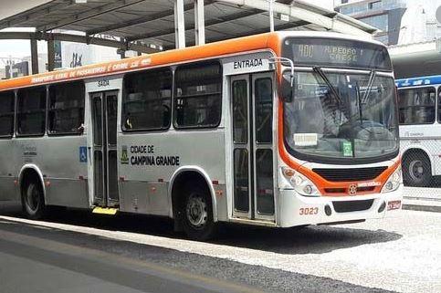 onibus - Circulação de ônibus coletivo é suspenso durante feriado em Campina Grande