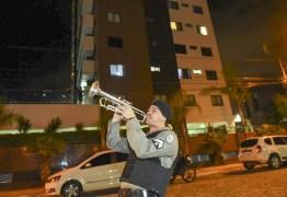 'POLICIAMENTO MUSICAL SOLIDÁRIO': Militares levam música e segurança em cidades da Paraíba; VEJA VÍDEO