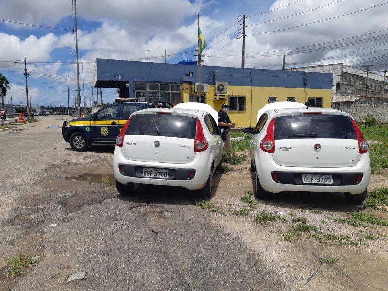 veículo roubado 800x600 1 - PRF recupera veículo circulando clonado na PB
