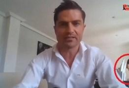 Apresentador de TV é flagrado com 'amante' jornalista durante live no YouTube