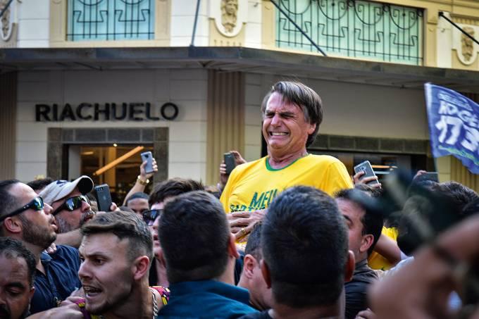 000 1bu4jk.jpg - Relatório da Polícia Federal aponta ação isolada de Adélio Bispo em atentado contra Bolsonaro
