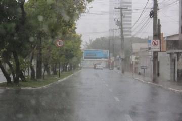 Paraíba tem 85 cidades em alerta de perigo potencial para chuvas intensas