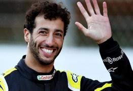 Daniel Ricciardo fecha acordo com a McLaren e deixará Renault na temporada de 2021