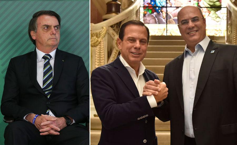 1427238 438290 - Bolsonaro chama Doria de 'bosta' e Witzel de 'estrume' em reunião ministerial