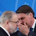2020 05 25T171815Z 1 LYNXMPEG4O171 RTROPTP 4 POLITICA BOLSONARO MORO PGR - Aras se manifesta contra a apreensão do celular de Bolsonaro