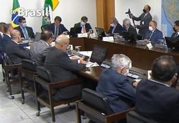 UNIÃO E TRÉGUA ENTRE PODERES: Após reunião com governadores, Bolsonaro deve sancionar ajuda financeira a estados
