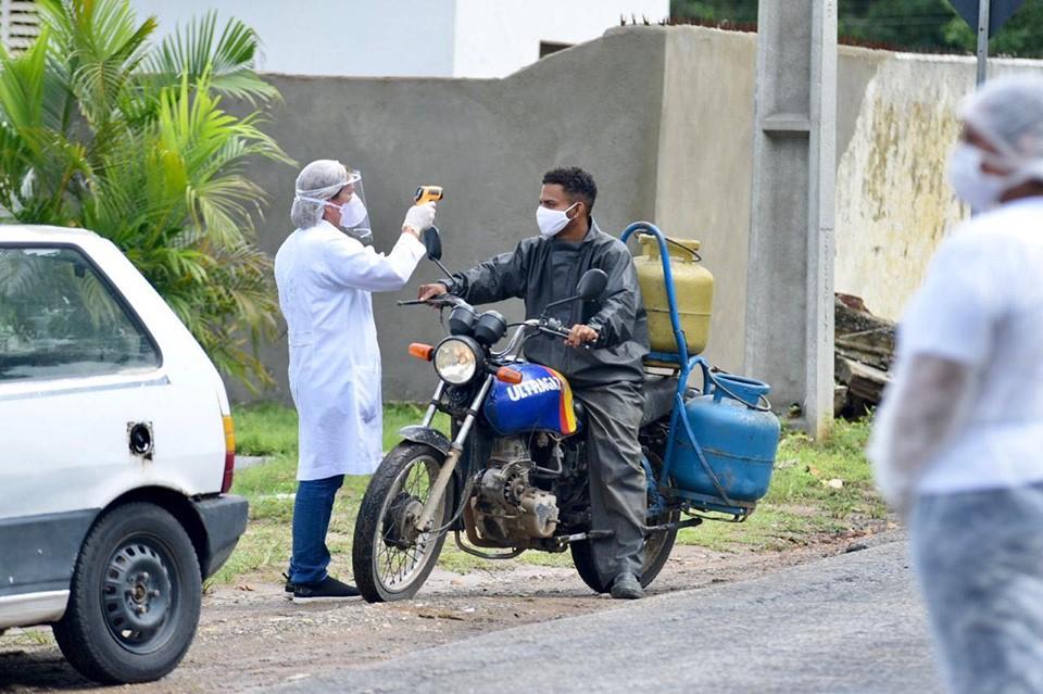 97889974 242963657021461 6989279162150158336 n - Prefeitura de Alhandra instala barreiras sanitárias restritivas na PB-034